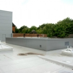 Manchester Grammar School, main theatre external elevations